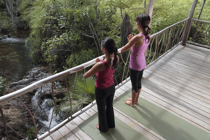 Yoga in nature Belize